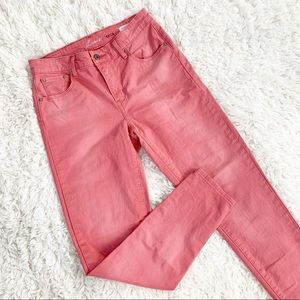 LEVI'S San Francisco Pink High Rise Skinny Jeans